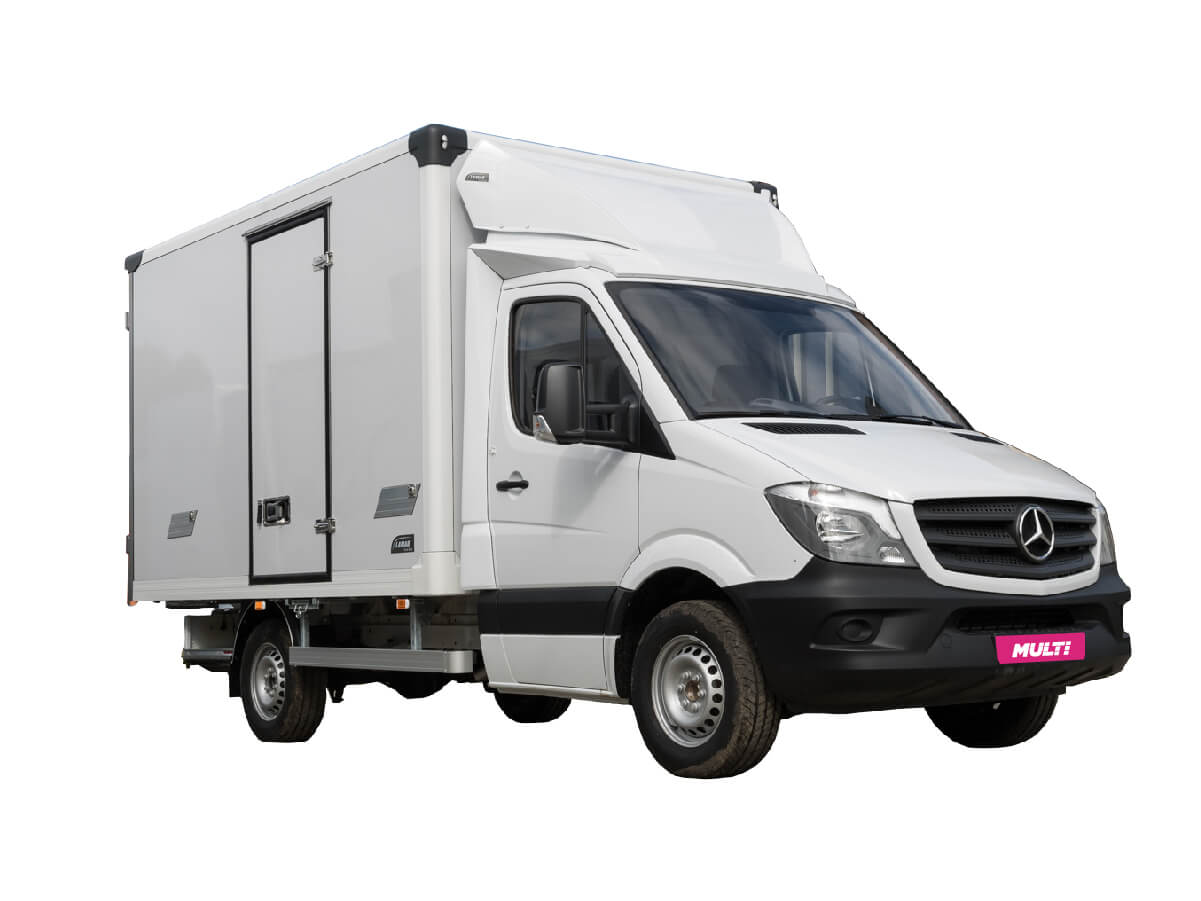 MERCEDES-BENZ SPRINTER CLOSED BOX